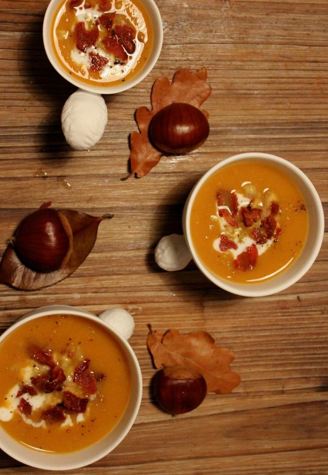 soupe potiron chataignes